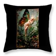A Fairy Throw Pillow