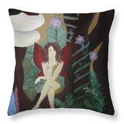 A Fairy's Sigh Throw Pillow