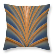 A Fan Of Art Deco Throw Pillow