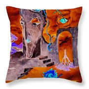 A Few Seconds In My Head Throw Pillow