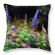 A Field Of Wildflowers Throw Pillow