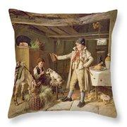 A Fine Attire Throw Pillow