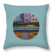 A Fine Day For Balloons Throw Pillow