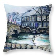 A Fine Day In Eire  Throw Pillow