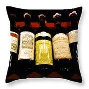 A Fine Selection Throw Pillow