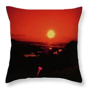 A Flair For Sunsets Throw Pillow