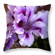A Floral For Jalapeno Throw Pillow