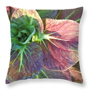 A Floral II Throw Pillow