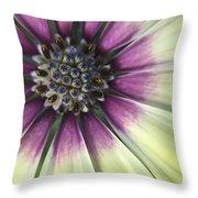 A Flower's Day Throw Pillow