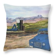 A Ford Throw Pillow