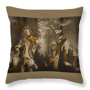 A Forest Overture Throw Pillow