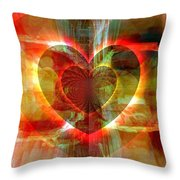 A Forgiving Heart Throw Pillow