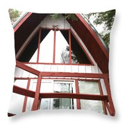 A-frame Throw Pillow