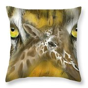 A Friend For Lunch Throw Pillow