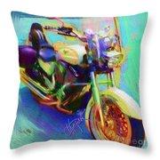 A Friends Ride Throw Pillow