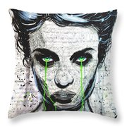 A Funeral For My Vanity  Throw Pillow