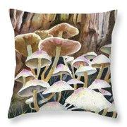 A Fungus Amongus Throw Pillow