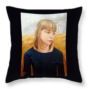 A Gang Of Crows Throw Pillow