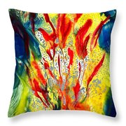A Gateway To Americo Healing Throw Pillow