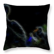 A Gathering Of Angels 6 Throw Pillow
