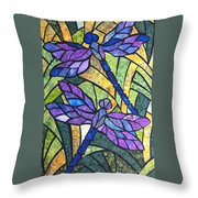 A Gentle Flight Throw Pillow