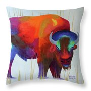 A Gentle Look Throw Pillow