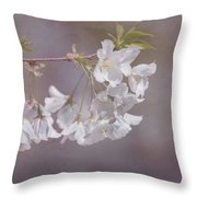 A Gentle Touch Of Spring Throw Pillow