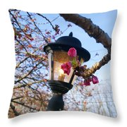 A Glance Of Spring Throw Pillow