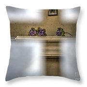 A Glimpse Into A Tomb Throw Pillow