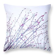 A Glimpse Of Colour Throw Pillow