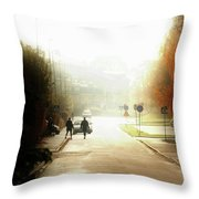 A Glimpse Of Magic Throw Pillow