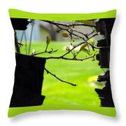 A Glimpse Of Spring Throw Pillow