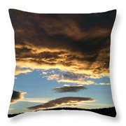 A Glorious End Of Day Throw Pillow