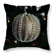 A Gold Orb-vertical Throw Pillow