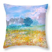 A Golden Afternoon Throw Pillow
