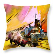 A Good Catholick Throw Pillow