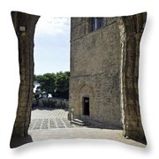 A Gothic View II Throw Pillow