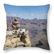 Grand Canyon Viewpoint Throw Pillow