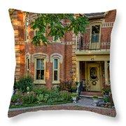 A Grand Victorian 3 Throw Pillow