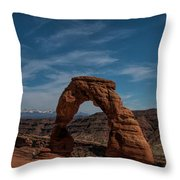 A Great Arch Throw Pillow