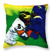 A Great Block Throw Pillow