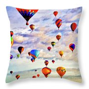 A Great Day To Fly Throw Pillow