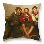A Great Find Throw Pillow