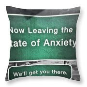 A Great Sign Throw Pillow