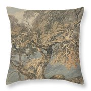 A Great Tree Throw Pillow