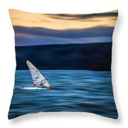 A Great Way To End The Day Throw Pillow