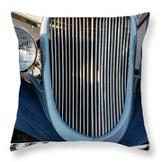 A Grille With A Smile Throw Pillow