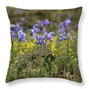 A Growing Crowd Throw Pillow