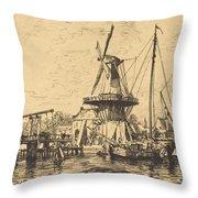 A Haarlem Throw Pillow