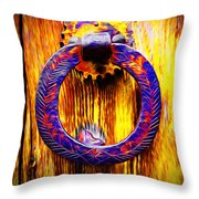 A Happy Welcome Throw Pillow